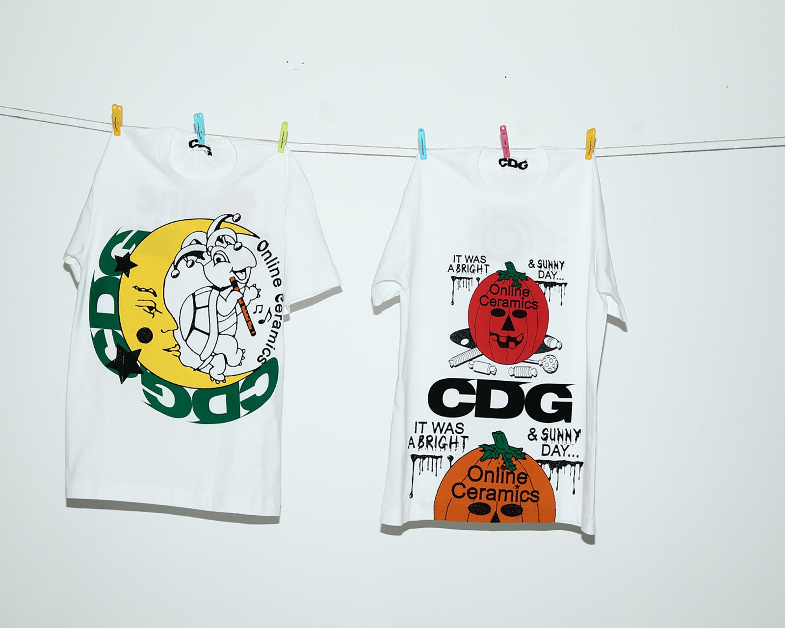 CDG x Online Ceramics