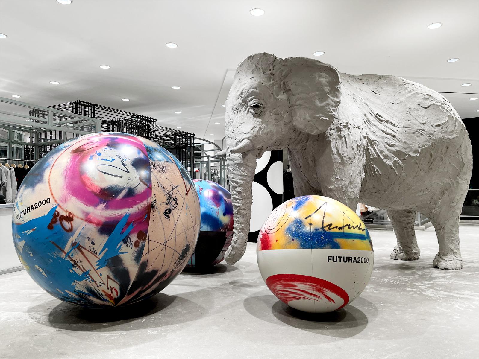 Elephant Space — CDG Shirt x Futura2000