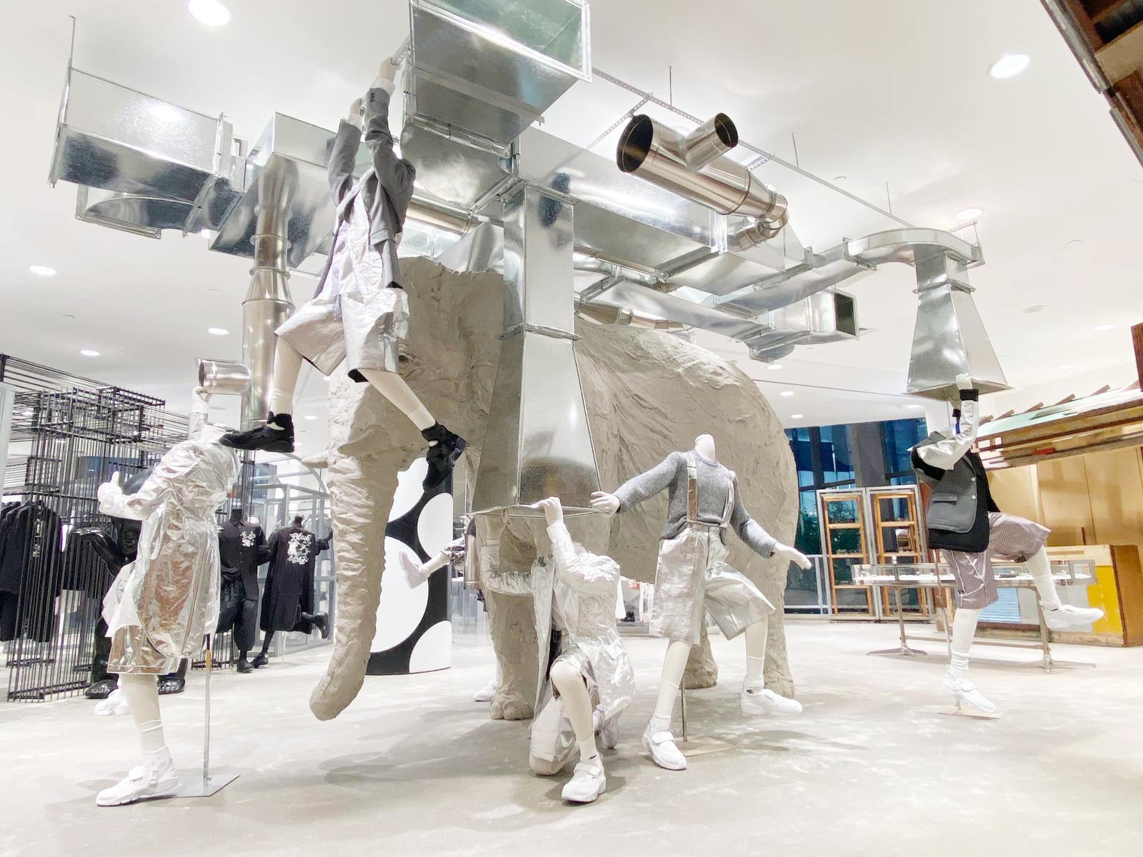 Elephant Space — Comme des Garçons Homme Plus