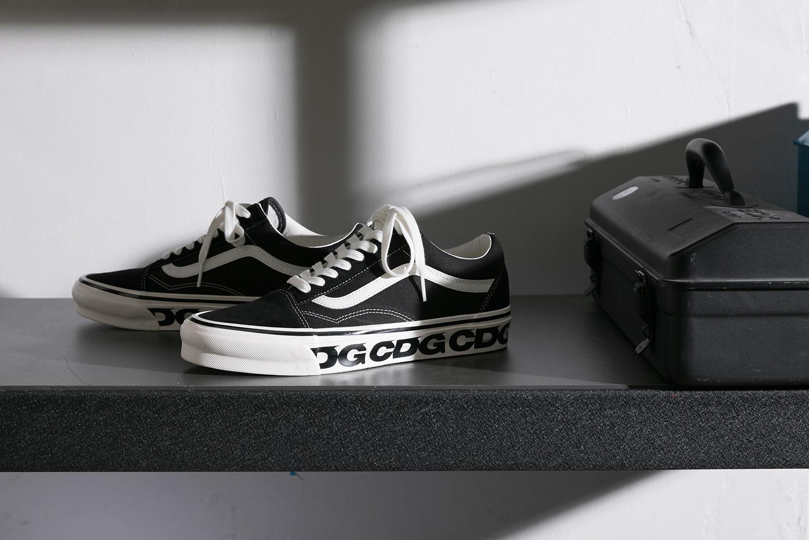 CDG x Vans